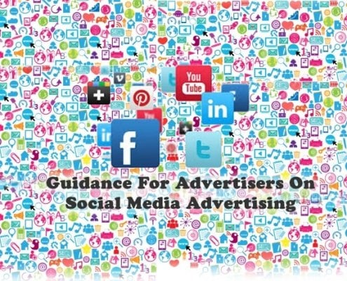 Social media guidance for adverts