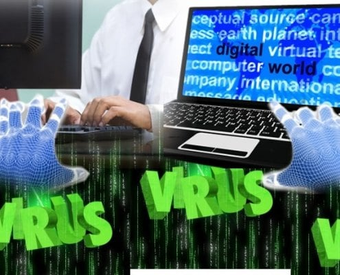 Outdated software attracts viruses