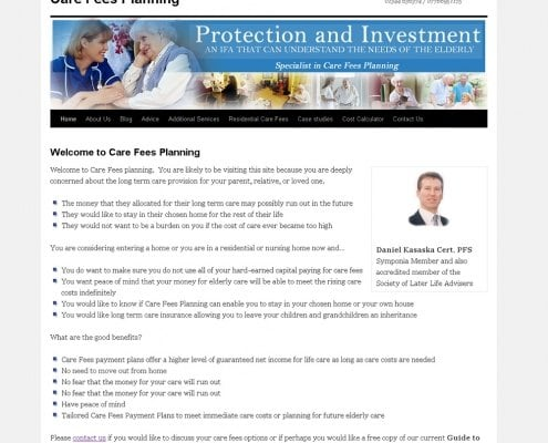 Care Fees Planning