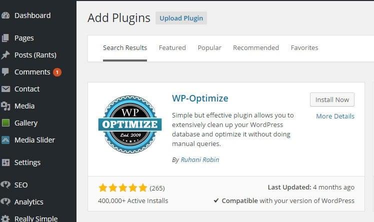 WP-Optimized
