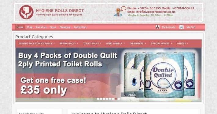 Hygiene Rolls Direct