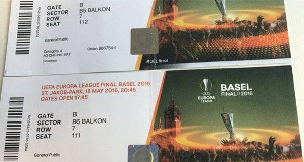Fake-tickets