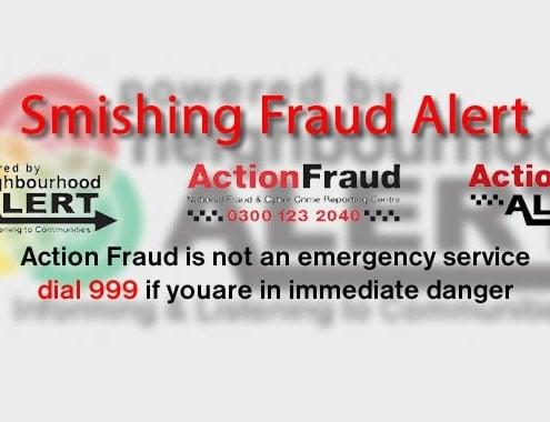 Smishing Fraud Alert