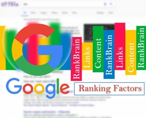 top 3 search ranking factors