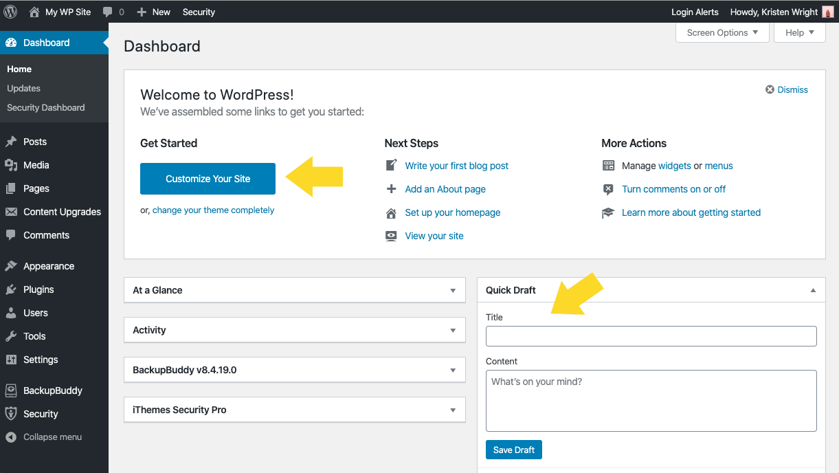 wordpress 5.3 ui changes