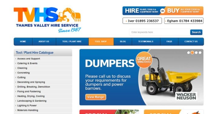 Thames Valley Hire Service